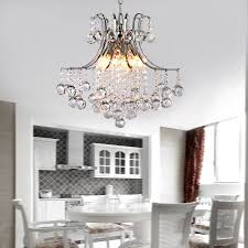 Modern Bedroom Chandeliers Modern Crystal Chandelier With 6 Lights Pendant Modern Ceiling