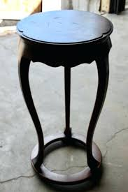 tall round accent table lot of tall round accent table 30 high accent table