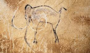 aurignacian man mammoth c 30 000 bc chauvet cave vallon