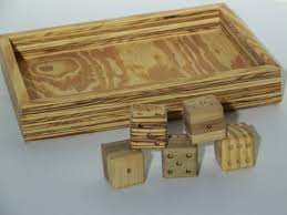 Old Fashioned Wooden Games Wooden dice dice tray old fashioned dice oversized dice 88