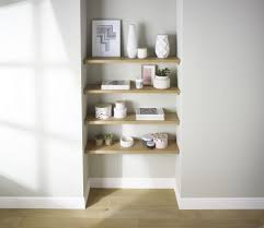 ... Large Size of Shelves:wonderful Floating Shelve Natural Walnut Effect  Shelf L Bq Prd Departments ...