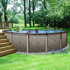 above ground swimming pool ideas. RIVIERA™ - 18\u0027 Round, 54 Deep Above-Ground Pool Above Ground Swimming Pool Ideas :
