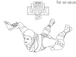 Fortnite Coloring Pages Print And Colorcom