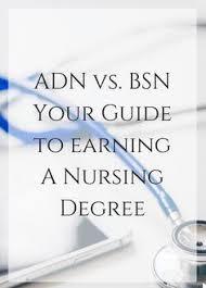 Adn Vs Bsn Adn Vs Bsn Your Guide To Earning A Nursing Degree Pinterest