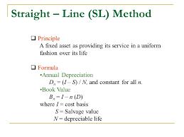 Fixed Asset Depreciation Calculator Depreciation Lecture No 20 Chapter 8 Fundamentals Of Engineering