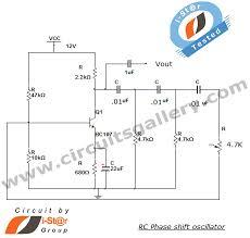 circuit diagram of oscillator the wiring diagram rc phase shift oscillator using transistor bjt circuit circuit diagram