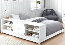 modern storage bed modern leather queen size storage bed frame