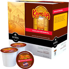 kahlua coffee original non alcoholic light roast keurig k cup 18 pk