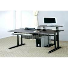 2 person computer desk desk two person computer desk home office two tier corner with regard 2 person computer desk two