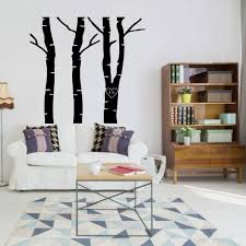 tree wall decals with carved vinyl