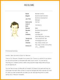 how to write a simple resume sample examples of simple resumes resumes for beginners basic resume