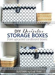 Decorative Cardboard Storage Boxes With Lids Marvelous Decorative Cardboard Storage Boxes Decorative Storage 62
