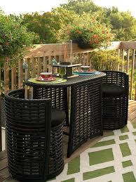 patio furniture for small spaces. Captivating Outdoor Patio Furniture For Small Spaces Of Decorating Modern  Design Ideas Side Table A