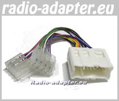 nissan wiring harness adapter radio install wire harness car nissan almera tino 2001 onwards car radio wire harness wiring iso lea