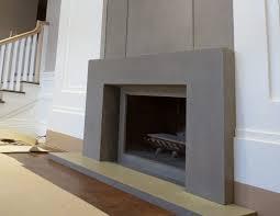 ny concrete fireplace surround