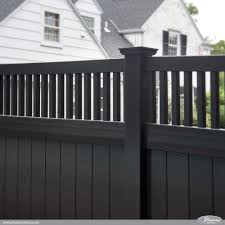 Vinyl fence styles Wood Great Fence Idea Awesome Black Pvc Vinyl Privacy Fence Panels From Illusions Vinyl Fence Illusions Vinyl Fence Awesome Illusions Pvc Vinyl Fence Ideas And Images Illusions Vinyl