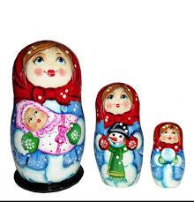 THUÝ NGA - ? #Búpbê #Matryoshka - Quà tặng từ nước Nga ??...