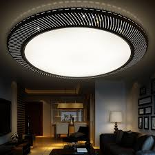 Living Room Living Room Ceiling Lighting With Big Black Frame