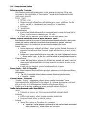 r empire essay outline r empire a r republic a i  2 pages test 1 essay question outline