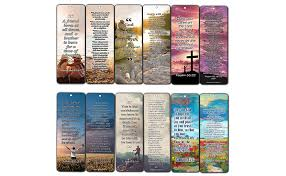 What are the top catholic bible verses? Amazon Com Christian Bookmarks Cards With Popular Inspirational Bible Verses 6 Unique Designs Pack Of 60 Bible Scripture Prayer Cards War Room Decor Office Products