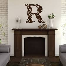 monogram monogram decal monogram wall