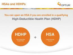 hdhp hsa hsas and hdhps high deductible health plan hdhp