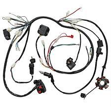 jcmoto wiring harness loom kit cdi rectifier key ignition coil jcmoto wiring harness loom kit cdi rectifier key ignition coil magneto stator for gy6 125cc 150cc 250cc atv quad scooter