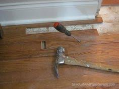 how to patch and repair wood floors