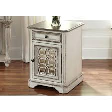 antique white side table – developindi.co