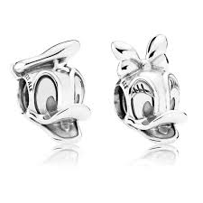 pandora disneydonald and daisy duck charm set bb250