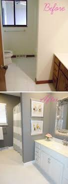 Before And After  Awesome Bathroom Makeovers Diy Bathroom - Before and after bathroom renovations