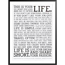 This Is Your Life Quote Interesting This Is Your Life Quote Poster Entrancing 48 Best Bilder Images On