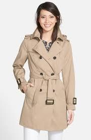 london fog heritage trench coat with detachable liner regular petite nordstrom