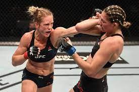 UFC Fight Island: Holm puts on ...
