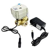 bacoeng 1 2 12v 24v brass motorized ball valve 3 way ac dc9 36v bacoeng 1 2 quot 12v 24v brass motorized ball valve 3 way