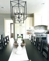 modern farmhouse kitchen lighting large lantern style chandelier medium size of modern farmhouse kitchen with table