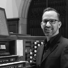 Jon Johnson in Wednesday Midday Musical Menu luncheon concert   Cincinnati  Chapter of the American Guild of Organists