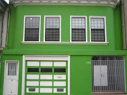 green exterior house paintSnazzy Cream Wall House Ideas Exterior For Small Garden Then Warm