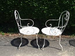 vintage wrought iron garden furniture. Beautiful Rod Iron Chairs (36 Photos) | 561restaurant.com Vintage Wrought Garden Furniture