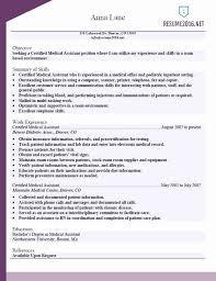 Medicaloffice Assistant Functional Resume Sample Unique Resume