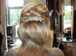 half up half down prom hairstyles for short hair photo 6