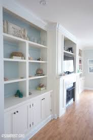 built in entertainment center wall