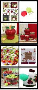 Red Apple Kitchen Decor 17 Best Images About Apple Decorations For Kitchens Walls Tiles