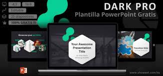Plantillas Power Point Modernas Dark Pro Plantilla Moderna Para Powerpoint
