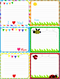 Free Printable Note Cards Template Free Printable Note Cards Template Inspirational Kids Bento Lunch