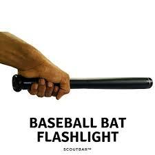 Buy scoutBAR Super Bright <b>Baseball Bat Tactical Flashlight</b> (41 cm ...