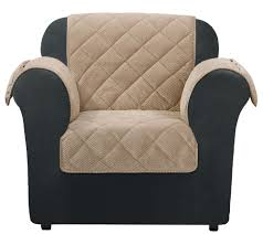 Cover Furniture Sure Fit Chair Furniture Cover With Textured Pique Fabric H209470