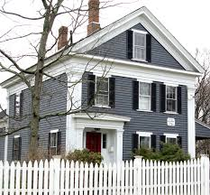 historic exterior paint colorsRestoring the original look of your historic house