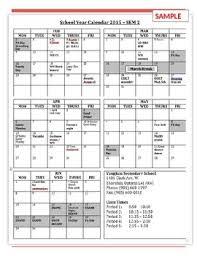 Customizable Calendar 2015 Semester At A Glance 10 Month Customizable Calendar