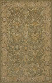 rugsville camilla sage green traditional wool rug 10525 10525